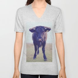 You looking at me? Unisex V-Neck