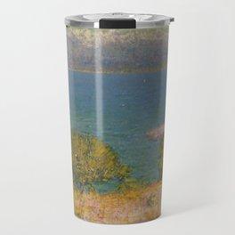 John Peter Russell - Landscape, Antibes (The Bay of Nice) Travel Mug