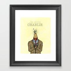 Je suis Charlie Framed Art Print