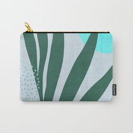 Blue Urban Jungle Carry-All Pouch