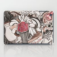 pomegranate iPad Cases featuring pomegranate  by nene
