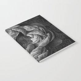 Moody Peony Notebook