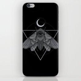 Occult Moth iPhone Skin