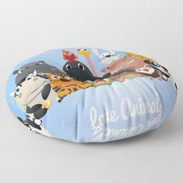 Happy kids Floor Pillow