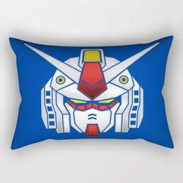 Mobile Suit in Disguise Rectangular Pillow
