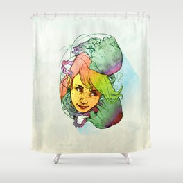 Jelly Jolly Shower Curtain