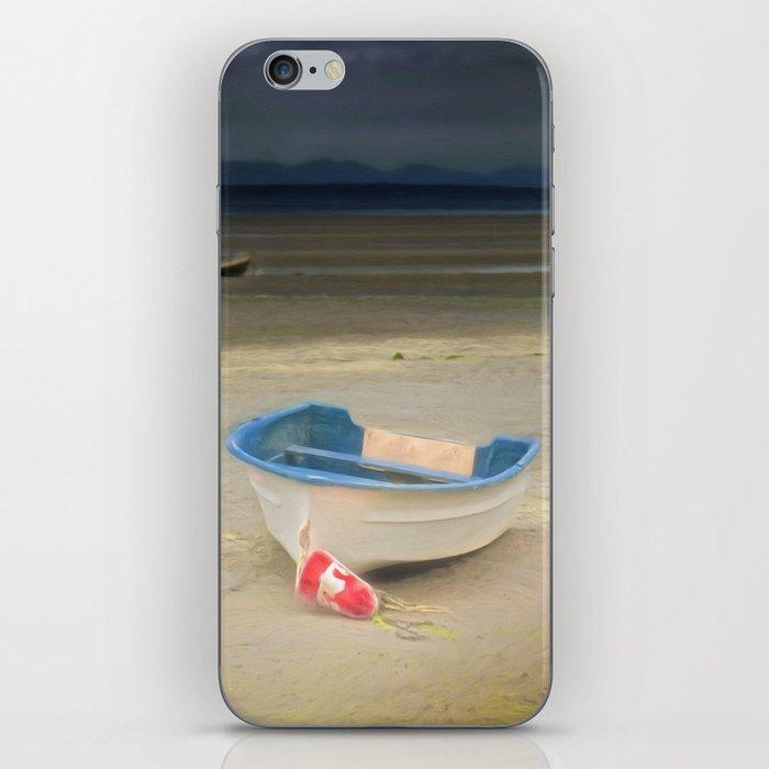 White Storm iPhone Skin