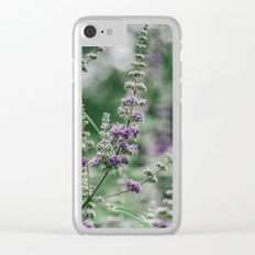 Lavender 5 Clear iPhone Case