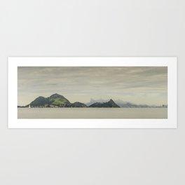 Distant Islands of Rio de Janeiro Art Print
