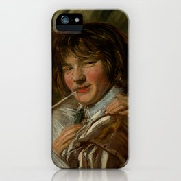 "Frans Hals ""The smoker"" iPhone Case"