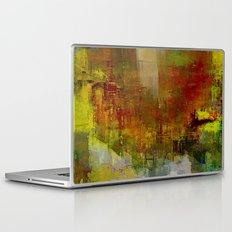 La ville jaune Laptop & iPad Skin