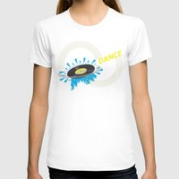record T-shirts featuring Dance - Record by Ornaart
