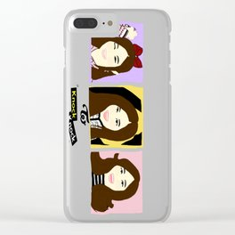 Knock Knock! Tzuyu Version Clear iPhone Case