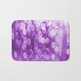 Bokeh Light Purple Tone #decor #society6 #buyart Bath Mat
