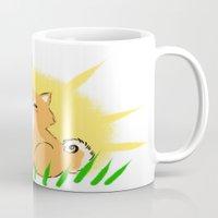 shiba Mugs featuring Guapo the Shiba by Corpus Ren