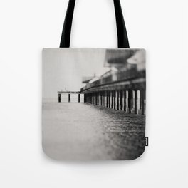 through the blur of her tears ... Tote Bag