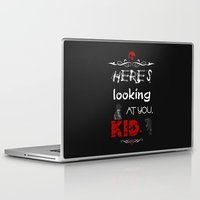 casablanca Laptop & iPad Skins featuring Here's looking at you, kid. by Siriusreno