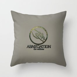 Abnegation Throw Pillow