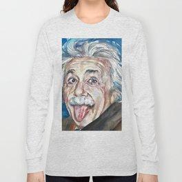 ALBERT EINSTEIN - watercolor portrait Long Sleeve T-shirt