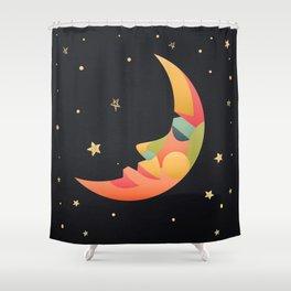 Imaginative Moon Shower Curtain