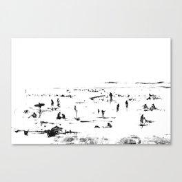 Beach Afternoon Canvas Print