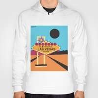 las vegas Hoodies featuring Welcome to Las Vegas by Geryes