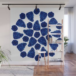 The Art of the Pinecones Wall Mural