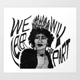 Sing to me, Aretha Art Print
