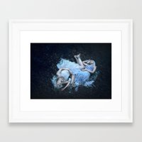 gemini Framed Art Prints featuring Gemini by Liancary