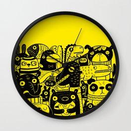 Never Happy Wall Clock