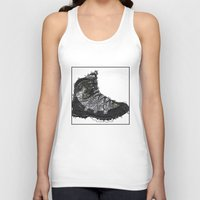 shoe Tank Tops featuring Shoe 1 by AstridJN