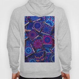 V9 Traditional Special Moroccan Colored Blue Stones - A2 Hoody