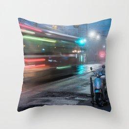 Winter Fog 1 Throw Pillow