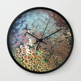 Amy's Pond Wall Clock