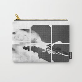 ROCKIT (Black on White) Carry-All Pouch