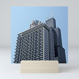 The City of Broad Shoulders Mini Art Print