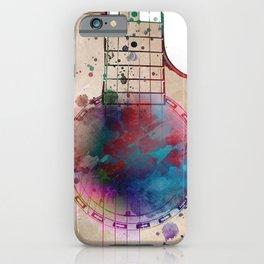 Guitar art 19 #guitar #music iPhone Case