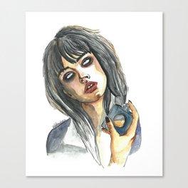 Edie Campbell Canvas Print
