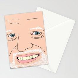 Hide Your Feelings Harold Portrait Stationery Cards