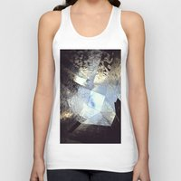 mirror Tank Tops featuring mirror by Nat Alonso