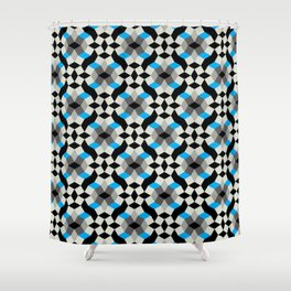 Re-Construction - design no. 2 Shower Curtain