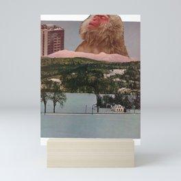 Another Landscape (Collage) Mini Art Print