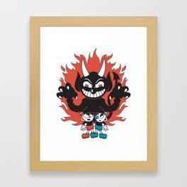 Cuphead Framed Art Print