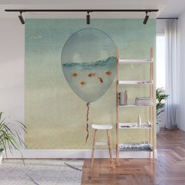 Balloon Fish Wall Mural