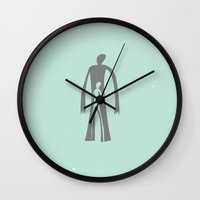 muppet Wall Clocks featuring Man or Muppet by Strong Odors