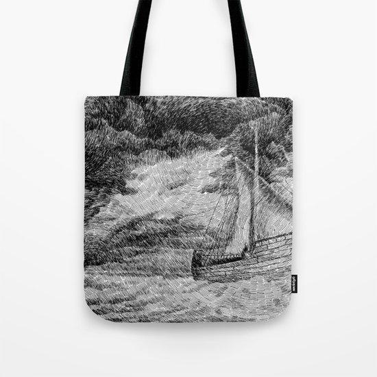 Fingerprint - Sailing Tote Bag