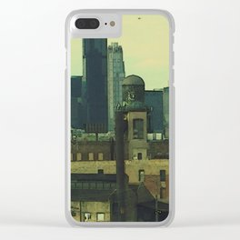 City of the Big Shoulders #2 Clear iPhone Case