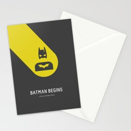 Flat Christopher Nolan movie poster Stationery Cards