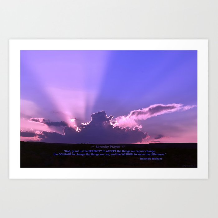 Serenity Prayer - III Kunstdrucke