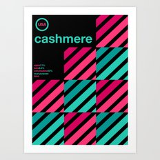 cashmere single hop Art Print